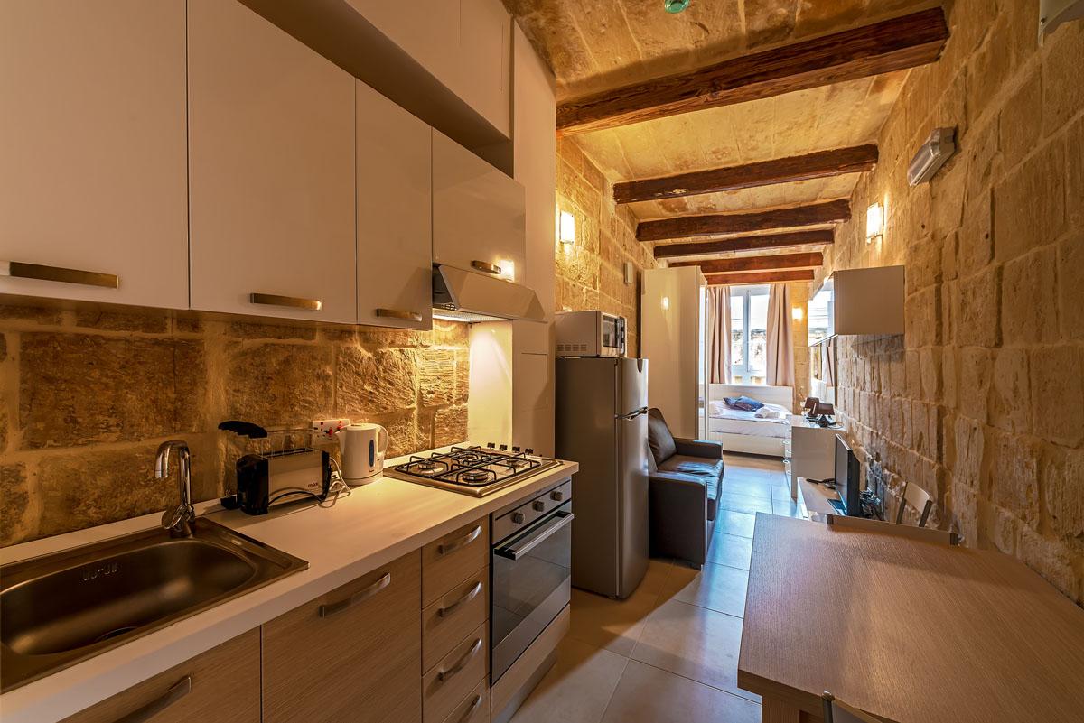 Studio Apartment Rental In Valletta
