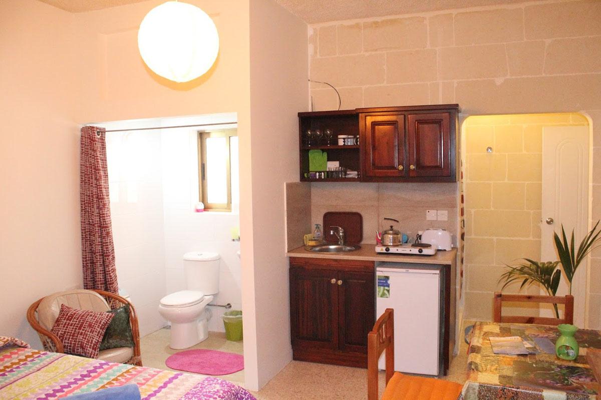 Low Cost Studio Apartment Rentals in Gozo